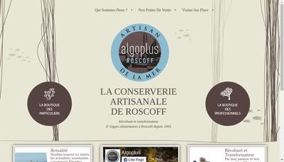 Site internet de Algoplus