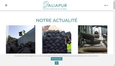Site internet de Aliapur