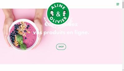 Site internet de A & O Nutrition Bio