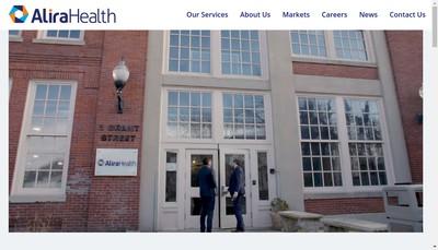 Site internet de Alira Health