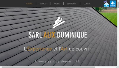 Site internet de SARL Alix Dominique
