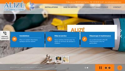 Site internet de Alize