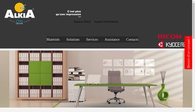 Site internet de Alkia
