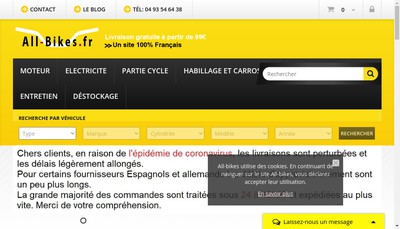 Site internet de MR Developpement