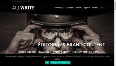 Site internet de All Write