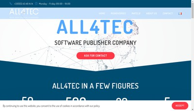 Site internet de All4Tec
