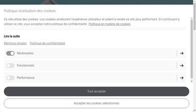 Site internet de All Gxp Consulting
