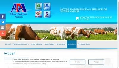 Site internet de Porvigor Supranimal