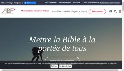 Site internet de Bibli'O
