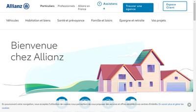 Site internet de Allianz