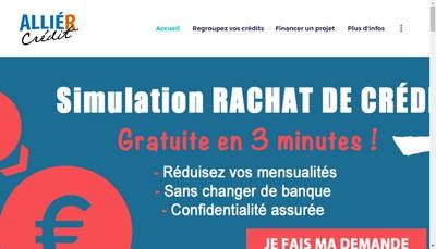 Site internet de Allier Credit