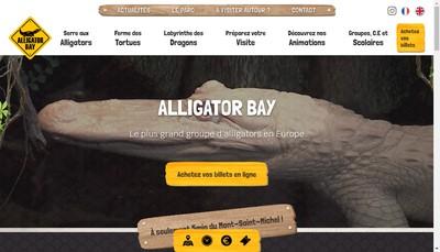 Site internet de Alligator Bay