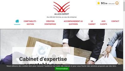 Site internet de Allios Expert-Comptable