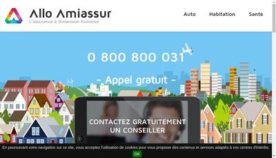 Site internet de Allo-Amiassur