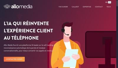 Site internet de Groupe Allo-Media