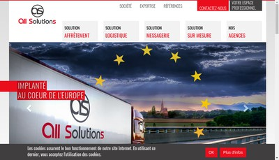 Site internet de All Solutions