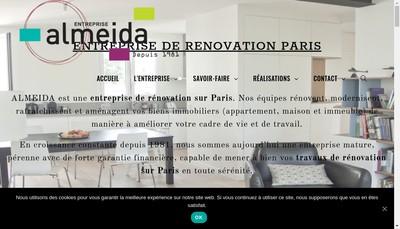 Site internet de Almeida