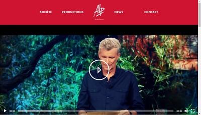 Site internet de Adventure Line Productions