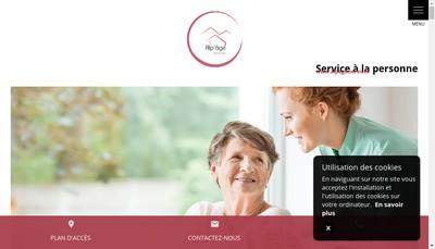 Site internet de Alp'Age Services