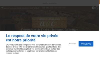 Site internet de Alpes Eco Construction