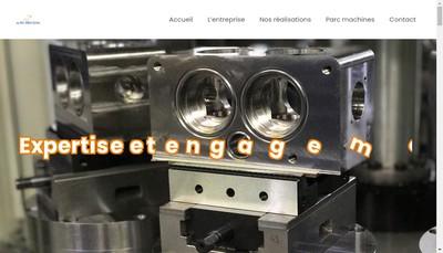 Site internet de Alpes Precision
