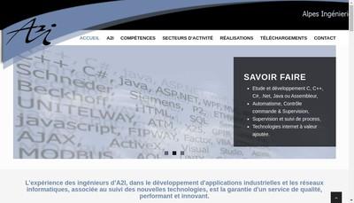 Site internet de Alpes Ingenierie Informatique