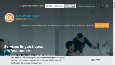 Site internet de Optilingua