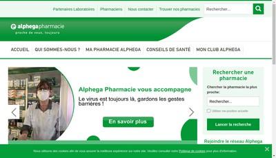 Site internet de Pharmacie Valentin