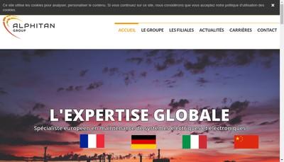 Site internet de Application Electro Mecanique