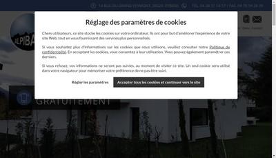 Site internet de Alpibat