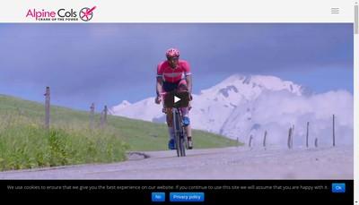 Site internet de Alpine Cols