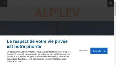 Site internet de Alp'Lev