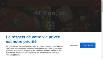 Site internet de Al Punjab