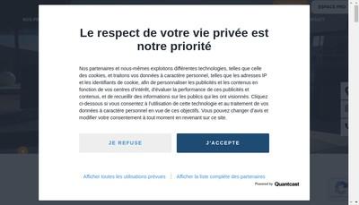 Site internet de Alsace Carreaux