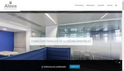 Site internet de Alsea