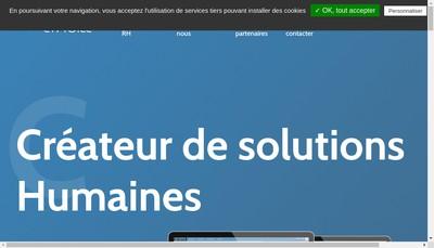 Site internet de Altagile