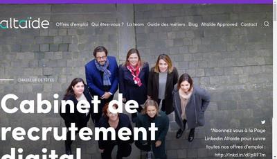 Site internet de Altaide