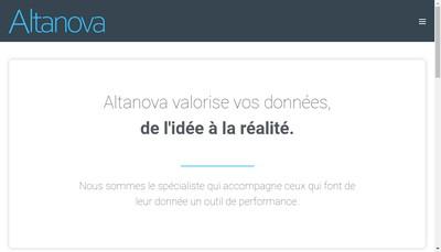 Site internet de Altanova France