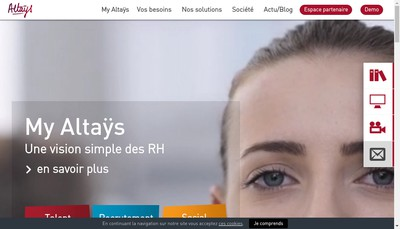 Site internet de Altays