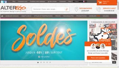 Site internet de Alterego-France