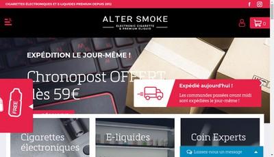 Site internet de Altersmoke