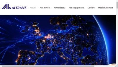 Site internet de Altrans Eco Rent