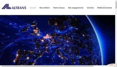 Site internet de Altrans