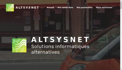 Site internet de Altsysnet Com