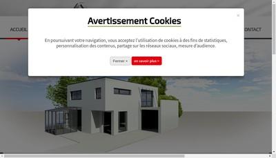 Site internet de Alu Menuiserie Savoie