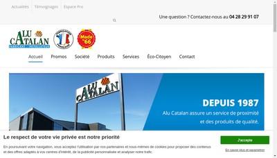 Site internet de Comptoir Central de la Menuiserie - Groupe B