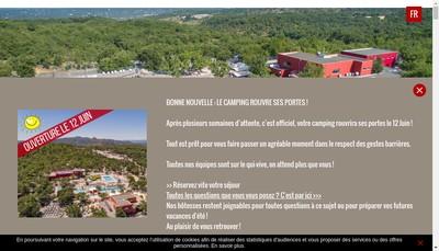 Site internet de Aluna Vacances