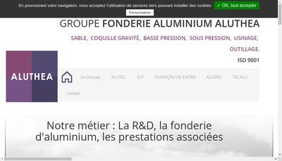Site internet de Aluthea