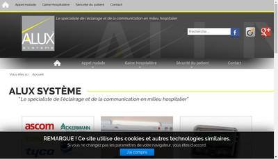 Site internet de Alux Systeme