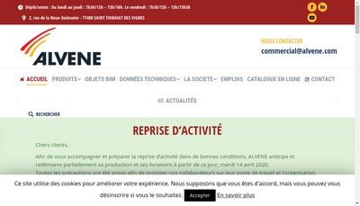 Site internet de Alvene